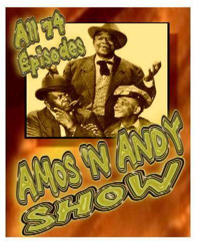 Amos n' Andy All 74 Complete DVD Set