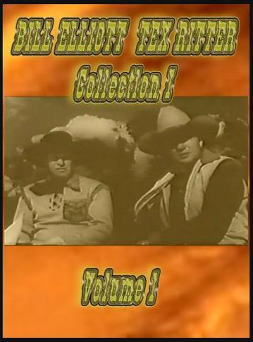 Wild Bill Elliott - Tex Ritter Collection 1 ~ 3 DVD ~ 5 Westerns