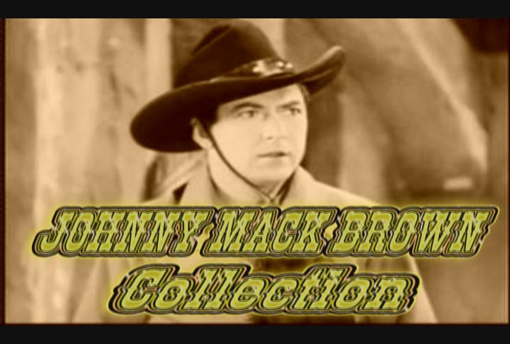 Johnny Mack Brown Western Roundup ~ 8 DVD's ~ 24 Great Westerns