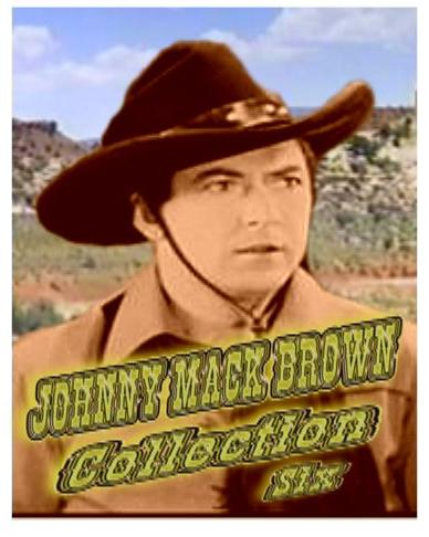 Johnny Mack Brown Collection VI ~ 8 Great Westerns
