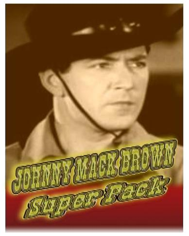 Johnny Mack Brown Super Pack ~ 78 Great Westerns