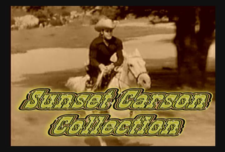 Sunset Carson Collection 7 DVD ~ 20 Great Westerns