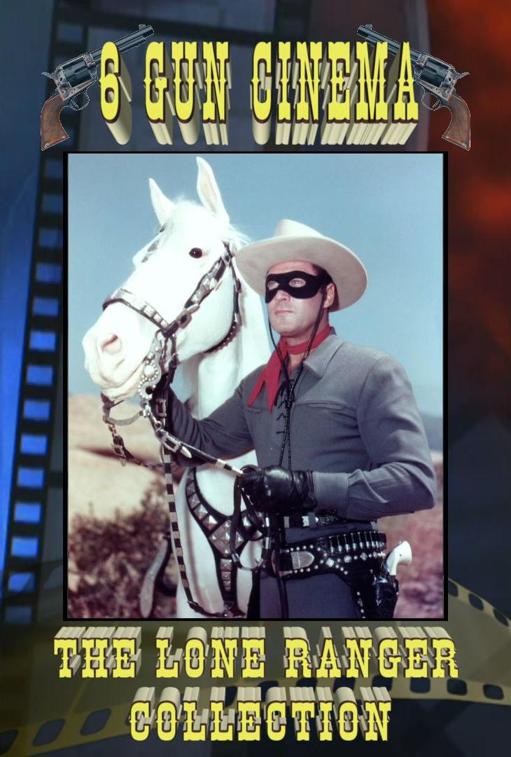 The Lone Ranger Collection 6 DVD 18 Episodes