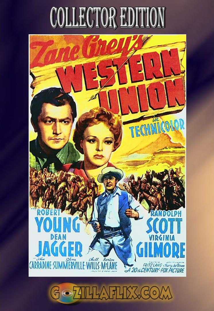 Western Union Collector Edition ~ Randolph Scott, Robert Young